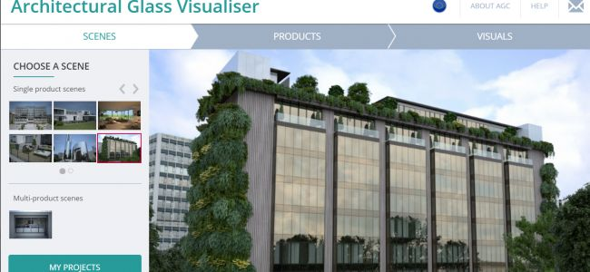 AGC's Architectural Glass Visualiser