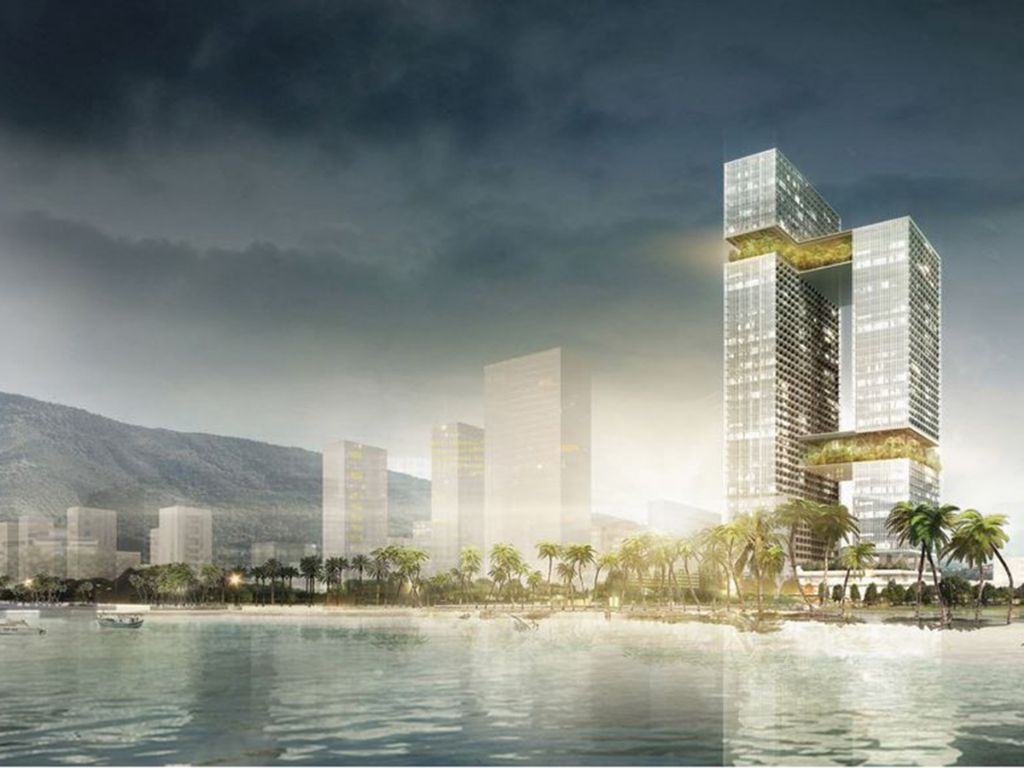 group8asia, NEY & Partners en boydens engineering winnen architectuurwedstrijd 'The Parks' in Quy Nhon, Vietnam