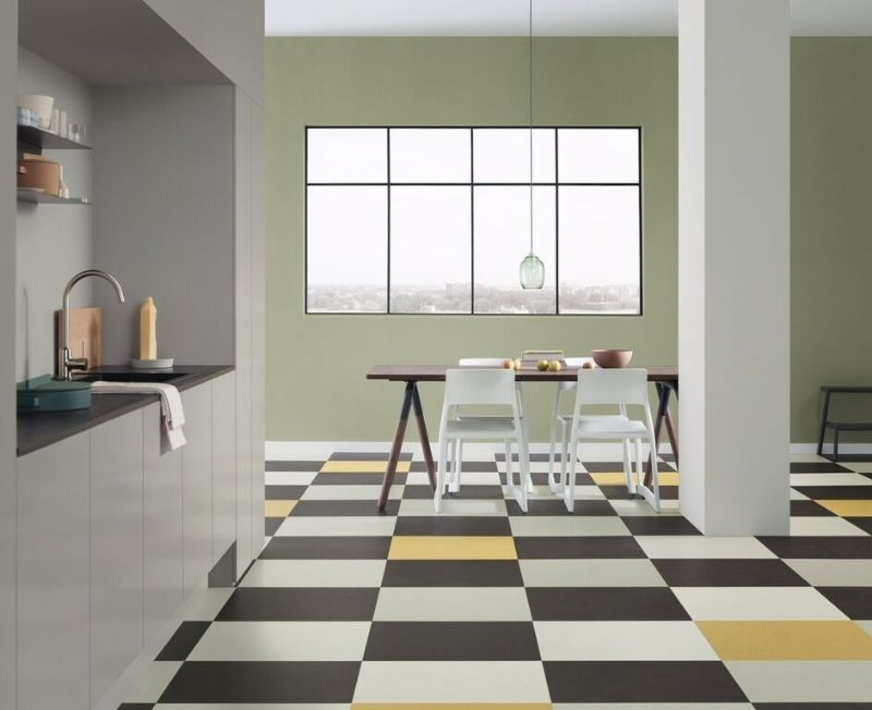 Forbo Vinyl Vloeren : Forbo flooring presenteert marmoleum click collectie de natural