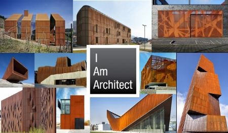 I am architect 2013: vier casestudies rond cortenstaal architectura.be