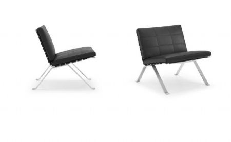 De vorm nook lounge chair van pet flessen de projectinrichter