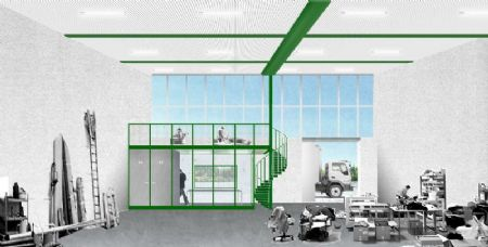 Office kersten geers david van severens incubator ruimte for Exterieur waregem 2015