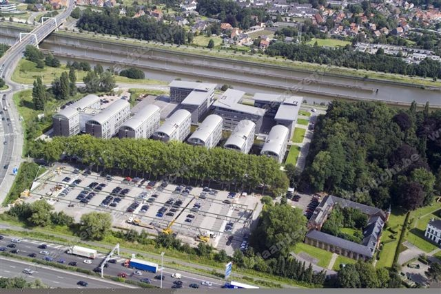 axxes business park in merelbeke architecturabe
